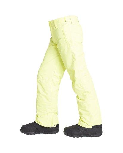 1 Boy's Outerwear Pant Yellow BSNPVBGP Billabong