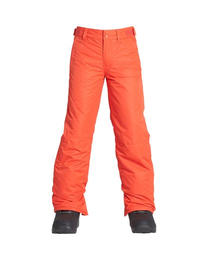 1 Boy's Outerwear Pant Orange BSNPVBGP Billabong