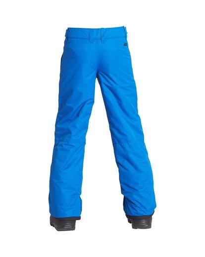 2 Boy's Outerwear Pant Blue BSNPVBGP Billabong