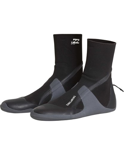 0 Boys 3mm Absolute RT Boot Black BWBOQBB3 Billabong