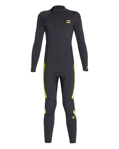 1 3/2 Boys Absolute Back Zip Wetsuit Green BWFU1BA3 Billabong
