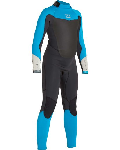 2 Boys' 302 Absolute Comp Back Zip Fullsuit Black BWFULAB3 Billabong