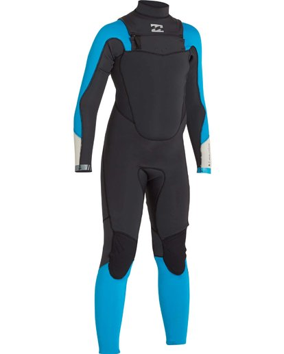 2 Boys' 3/2 Absolute Comp Chest Zip Fullsuit Black BWFULAC3 Billabong