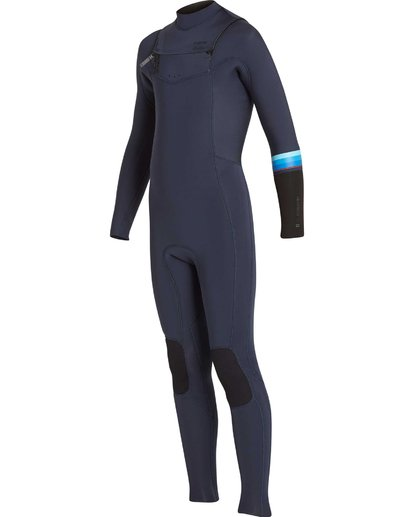 0 Boys' 3/2 Revolution DBah Chest Zip Fullsuit Grey BWFUNBR3 Billabong