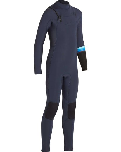 2 Boys' 3/2 Revolution DBah Chest Zip Fullsuit Grey BWFUNBR3 Billabong