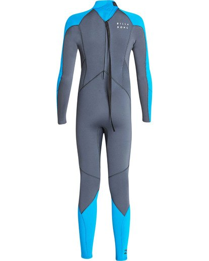 4 Boys' 3/2 Absolute Back Zip Long Sleeve Fullsuit  BWFUTBA3 Billabong