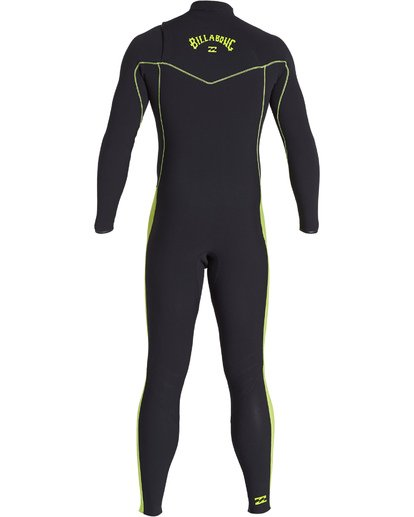 4 Boys' 3/2 Furnace Revolution Pro Chest Zip Fullsuit Green BWFUVBP3 Billabong