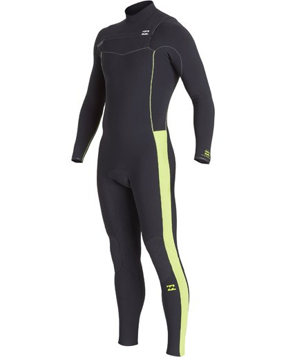 0 Boys' 3/2 Furnace Revolution Pro Chest Zip Fullsuit Green BWFUVBP3 Billabong