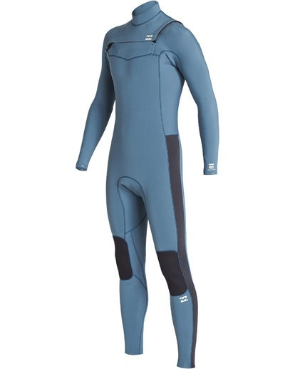 0 3/2 Boys Furnace Revolution Chest Zip Fullsuit Blue BWFUVBR3 Billabong