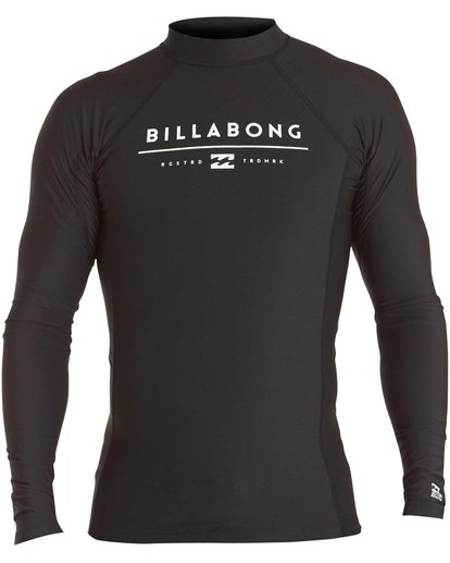 0 Boys' All Day Unity Performance Fit Long Sleeve Rashguard  BWLYJALL Billabong