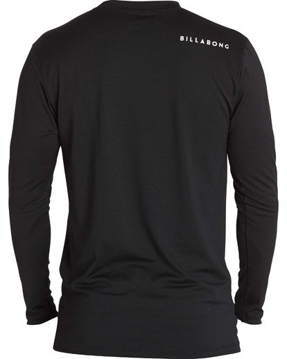 1 All Day Mesh Loose Fit Long Sleeve Rashguard Black BWLYJSBL Billabong