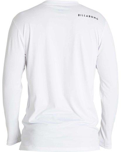 1 All Day Mesh Loose Fit Long Sleeve Rashguard White BWLYJSBL Billabong