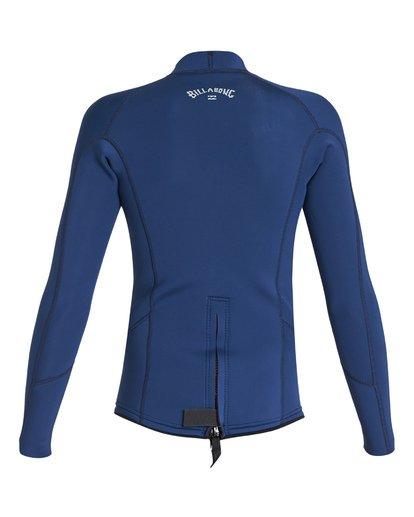 4 2/2 Boys Absolute Comp Long Sleeve Jacket Blue BWSH1BAL Billabong