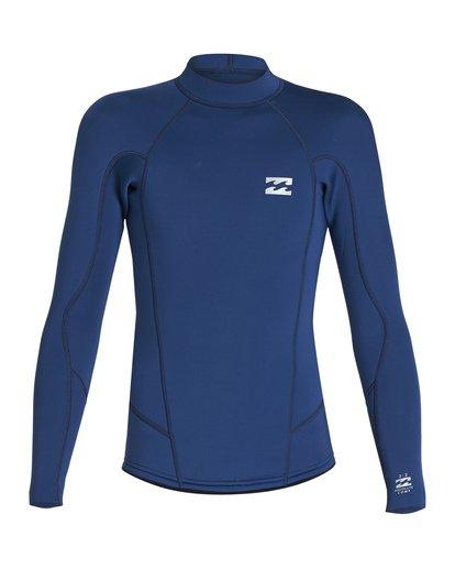 1 2/2 Boys Absolute Comp Long Sleeve Jacket Blue BWSH1BAL Billabong
