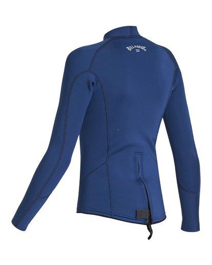 2 2/2 Boys Absolute Comp Long Sleeve Jacket Blue BWSH1BAL Billabong