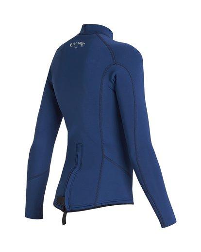 3 2/2 Boys Absolute Comp Long Sleeve Jacket Blue BWSH1BAL Billabong