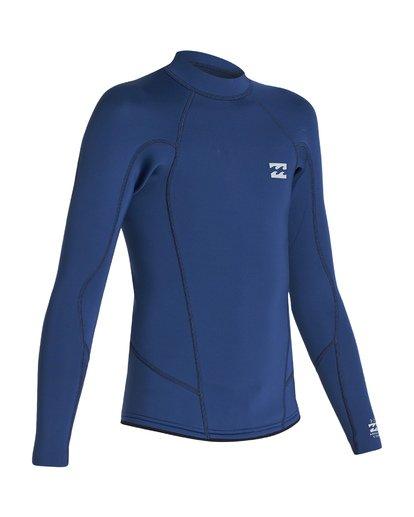 5 2/2 Boys Absolute Comp Long Sleeve Jacket Blue BWSH1BAL Billabong