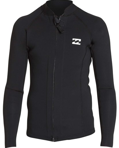 1 Boys' 202 Revolution Pump Front Zip Jacket Black BWSHQBF2 Billabong
