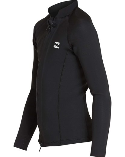 0 Boys' 202 Revolution Pump Front Zip Jacket Black BWSHQBF2 Billabong