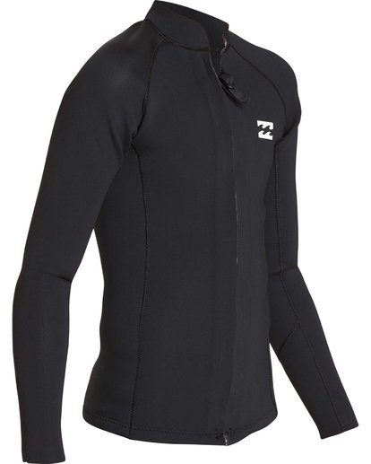 2 Boys' 202 Revolution Pump Front Zip Jacket Black BWSHQBF2 Billabong