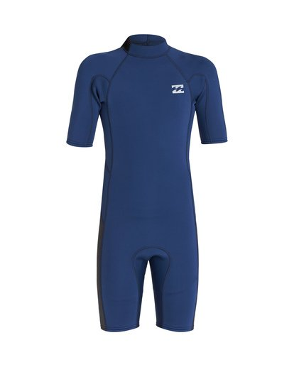 1 2/2 Boys Absolute Back Zip Wetsuit  BWSP1BAB Billabong