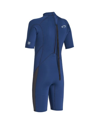 2 2/2 Boys Absolute Back Zip Wetsuit Blue BWSP1BAB Billabong