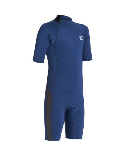 5 2/2 Boys Absolute Back Zip Wetsuit Blue BWSP1BAB Billabong