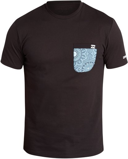 0 TEAM POCKET SS SURF TEE Black C4EQ01BIP7 Billabong