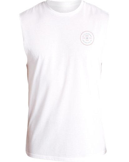 0 MUSCLE SURF TEE White C4EQ04BIP7 Billabong