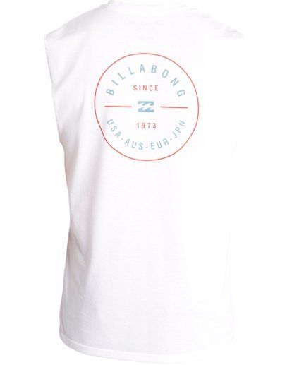 1 MUSCLE SURF TEE White C4EQ04BIP7 Billabong