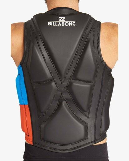 3 TRI BONG WAKE VEST NON CGA Black C4VS03BIP7 Billabong