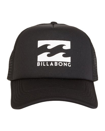 6 Podium - Cappello Trucker da Uomo Black C5CT01BIP7 Billabong