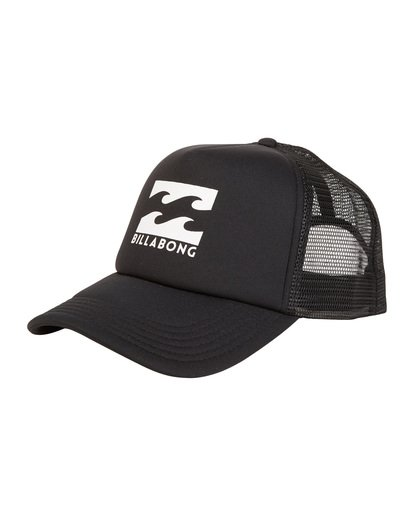 4 Podium - Cappello Trucker da Uomo Black C5CT01BIP7 Billabong