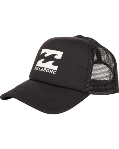 0 Podium - Cappello Trucker da Uomo Black C5CT01BIP7 Billabong
