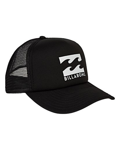 3 Podium - Cappello Trucker da Uomo Black C5CT01BIP7 Billabong