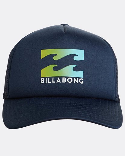 1 Podium Trucker Hat Blue C5CT01BIP7 Billabong