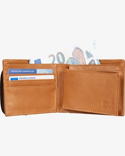 3 Locked Wallet  C5WM07BIP7 Billabong