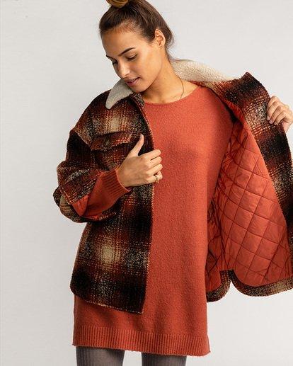 1 Lucky Wool Jacket Red EBJJK00102 Billabong