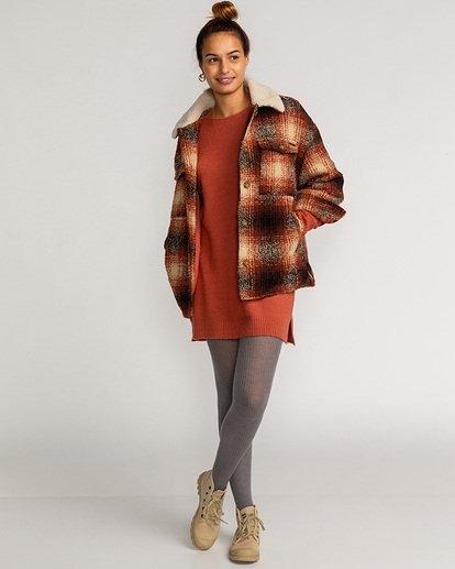 2 Lucky Wool Jacket Red EBJJK00102 Billabong