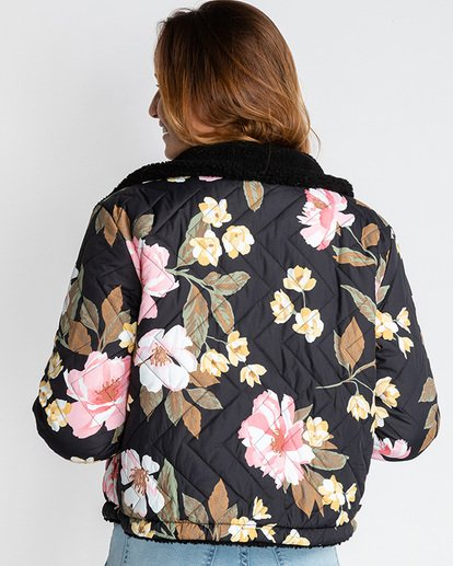 7 Hit The Road Reversible Jacket Black EBJJK00103 Billabong