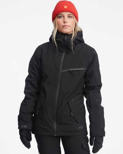 2 Eclipse Snow Jacket Black EBJTJ00100 Billabong