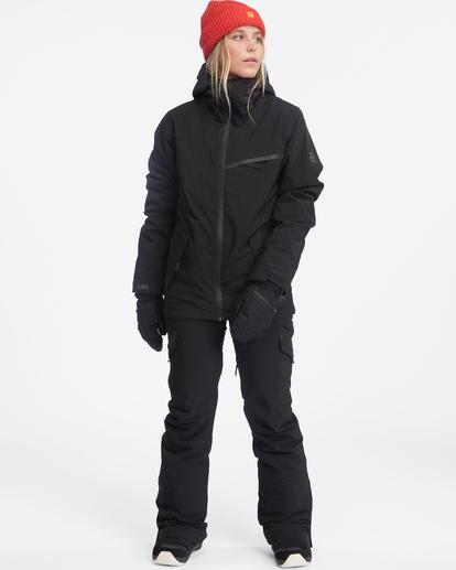 3 Eclipse Snow Jacket Black EBJTJ00100 Billabong