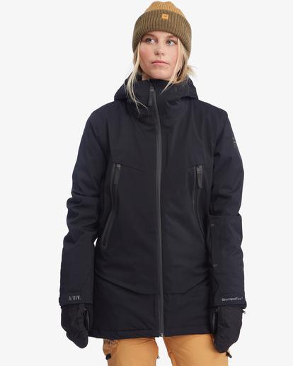 4 Trooper STX Snow Jacket Black EBJTJ00105 Billabong