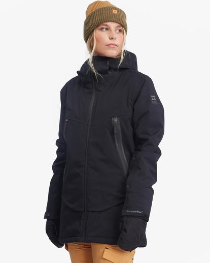 7 Trooper STX Snow Jacket Black EBJTJ00105 Billabong