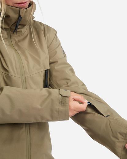 8 Trooper STX Snow Jacket Green EBJTJ00105 Billabong