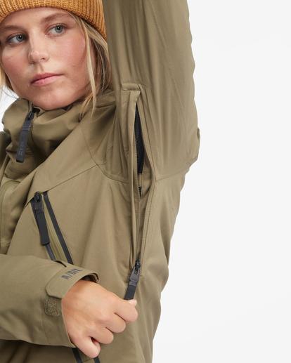 10 Trooper STX Snow Jacket Green EBJTJ00105 Billabong