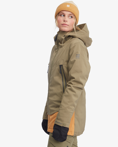 6 Trooper STX Snow Jacket Green EBJTJ00105 Billabong