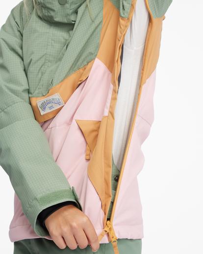 10 Day Break Snow Jacket Green EBJTJ00108 Billabong