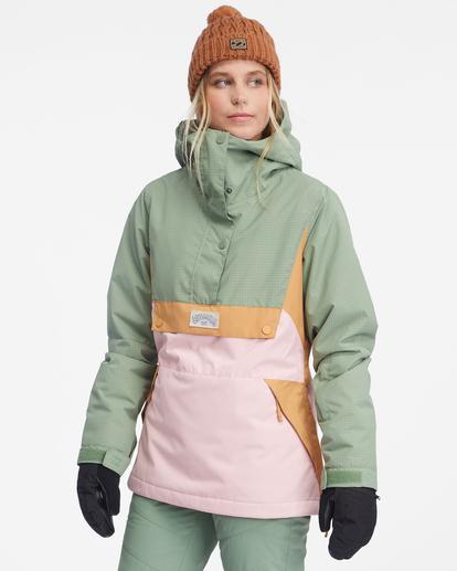 6 Day Break Snow Jacket Green EBJTJ00108 Billabong