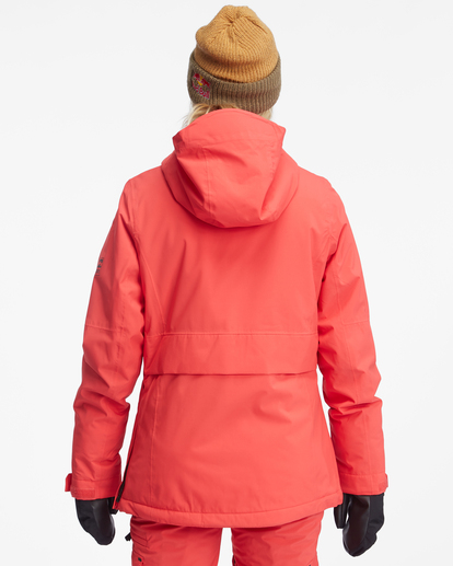 4 Passage Anorak Snow Jacket Red EBJTJ00111 Billabong